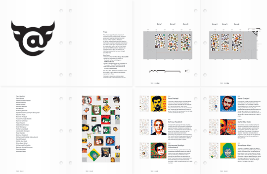@Large: Ai Weiwei on Alcatraz interpretive reference binder spreads