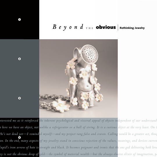 Beyond the Obvious exhibition catalog cover