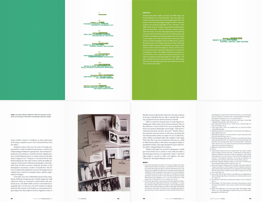 California College of the Arts Sightlines book spreads