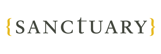 Sanctuary exhibition logo